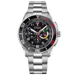 Zenith watches : El Primero Stratos Flyback Rainbow  03.2061.405/21.M2060