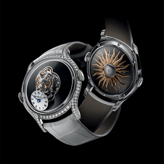 MB&F Legacy Machine FlyingT Black Lacquer