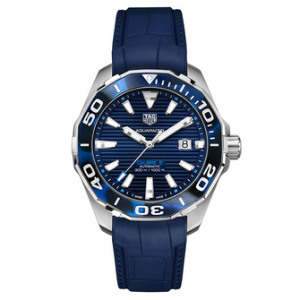 TAG Heuer Aquaracer Tortoise Shell Effect Blue Calibre 5 Automatic – 43mm