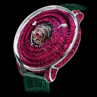 Jacob & Co. The Mystery Tourbillon Ruby