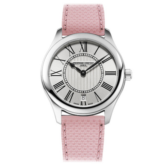 Frederique Constant Classics Ladies Quartz Pink Ribbon Special Edition