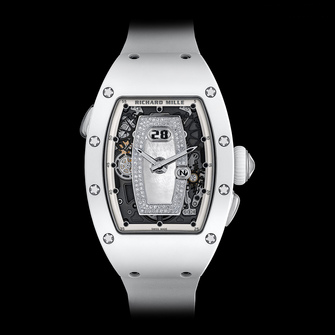 Richard Mille RM 037 White Ceramic Automatic