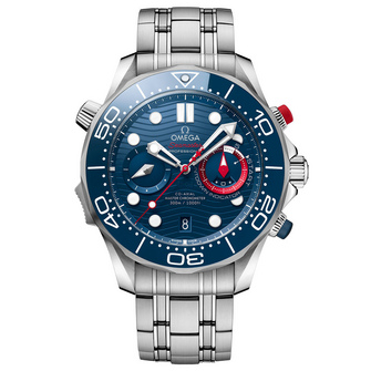 Omega Seamaster Diver 300M Co-Axial Chronometer Chronograph America's Cup – 44mm