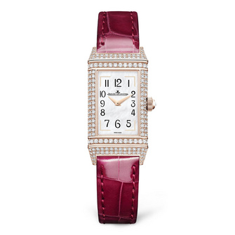 Jaeger-LeCoultre Reverso One Precious Flowers - Pink Arums