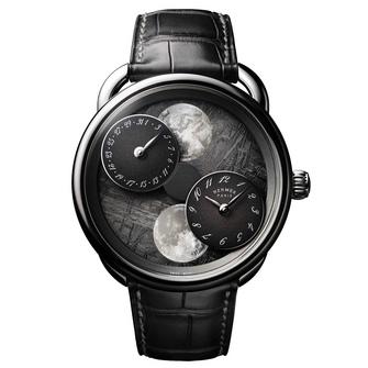 arceau l heure de la lune meteorite front copyright joel von allmen