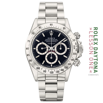 """THE 16520 SS """"FLOATING LOGO NERO OYSTER PERPETUAL COSMOGRAPH"""" AKA """"THE FLAWLESS R"""""""