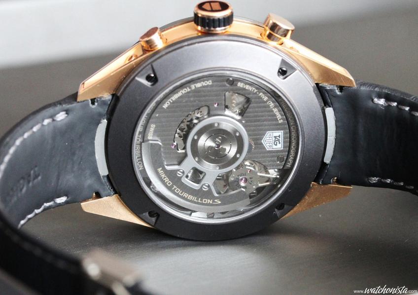 Точная копия швейцарских часов tag heuer mikrotourbillon s.