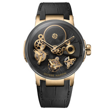 Ulysse Nardin Executive Tourbillon Free Wheel Straw Marquetry