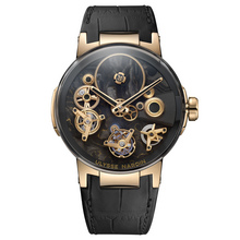 Ulysse Nardin Executive Tourbillon Free Wheel Carbonium® Gold