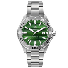 TAG Heuer Aquaracer Gents Green Dial