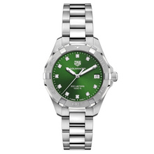 TAG Heuer Aquaracer Ladies Green Dial