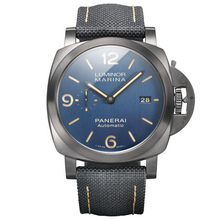 Panerai Luminor Marina Titanio/DLC Bucherer Blue Editions – 44mm