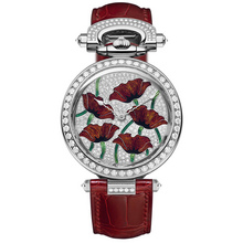 Bovet Amadeo® Fleurier 39  « Poppies » Email Grand Feu