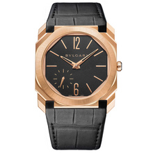 Bvlgari Octo Finissimo Automatic Satin-Polished Rose Gold