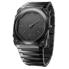 Bvlgari Octo Finissimo Automatic Black Sandblast-Polished Ceramic
