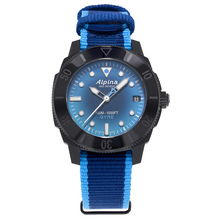 Alpina Seastrong Diver Gyre Ladies Automatic Smoked Blue