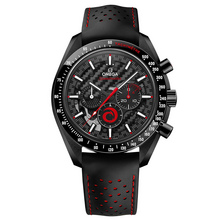 "Omega Speedmaster Moonwatch Chronograph ""Dark Side Of The Moon"" Team Alinghi"