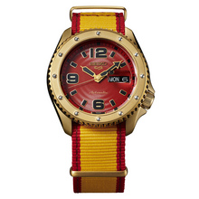 "Seiko 5 Sports Street Fighter V ""ZANGIEF - Iron Cyclone"" Limited Edition"