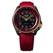 "Seiko 5 Sports Street Fighter V ""KEN - Rush 'n' Blaze"" Limited Edition"