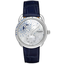 Hermès Arceau Petite Lune Sprinkling Of Diamonds And Sapphires