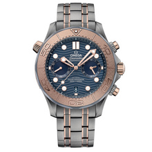 Omega Seamaster Diver 300M Omega Co-Axial Chronometer Chronograph - 44mm