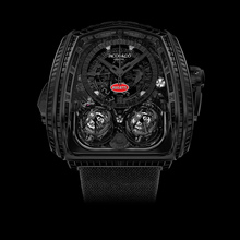 "Jacob & Co. Twin Turbo Furious ""La Montre Noire"" Bugatti Edition"