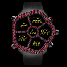 Jacob & Co. Ghost Red Gems Bezel