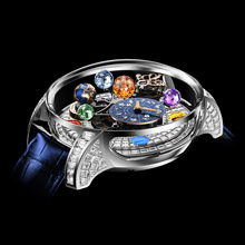 Jacob & Co. Astronomia Solar Baguette Jewelry Planets Zodiac White Gold