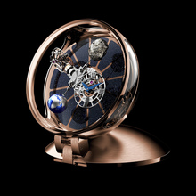 Jacob & Co. Astronomia Table Clock Rose Gold