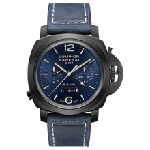 Panerai Luminor Chrono Monopulsante GMT Blu Notte