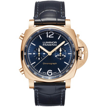 Panerai Luminor Chrono Goldtech™ Blu Notte