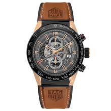 TAG HEUER CARRERA HEUER 01 ROSE GOLD (1)