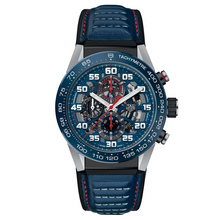 TAG Heuer Heuer 01 Red Bull Racing Leather Strap (3)