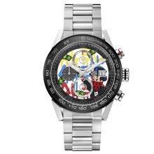 TAG Heuer Carrera Calibre Heuer 01 Alec Monopoly Special Decoration