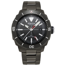 alpina seastrong gmt al 247lgg4tv6b
