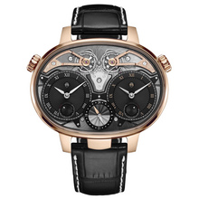 2 dual time resonance 18ct rose gold soldat