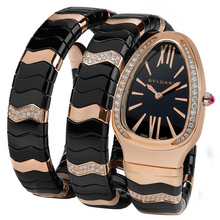 bulgari serpenti spiga pink gold