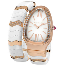 bulgari serpenti spiga pink gold white