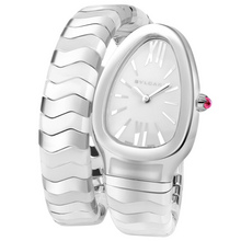 bulgari serpenti spiga stainless steel