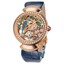 bvlgari divas dream tourbillon squelette blue