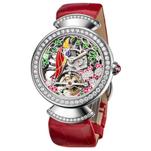 bvlgari divas dream tourbillon squelette red