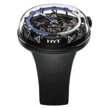 HYT H²0 Black DLC Blue