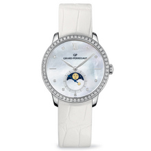 GP1966 lady MoonPhases WHITE GOLD