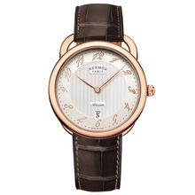 arceau automatique rose gold face