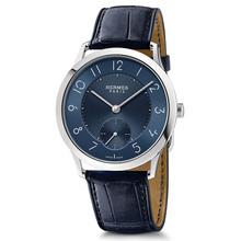 Slim 39 manufacture blue dial indigo blue