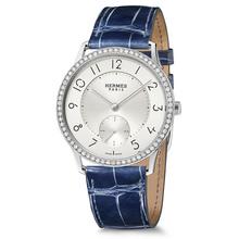 Slim 39 manufacture diamonds sapphire blue