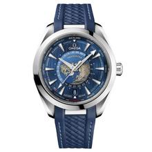 Omega Aqua Terra 150M Omega Co-Axial Master Chronometer GMT Worldtimer 43 mm