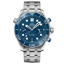 Omega Seamaster Diver 300M Omega Co-Axial Master Chronometer Chronograph 44 mm