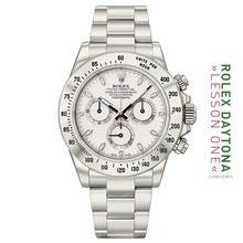 """THE 116520 SS """"OMANI BIANCO 5 LINER OYSTER PERPETUAL COSMOGRAPH"""" AKA """"THE WHITE KHANJAR"""""""