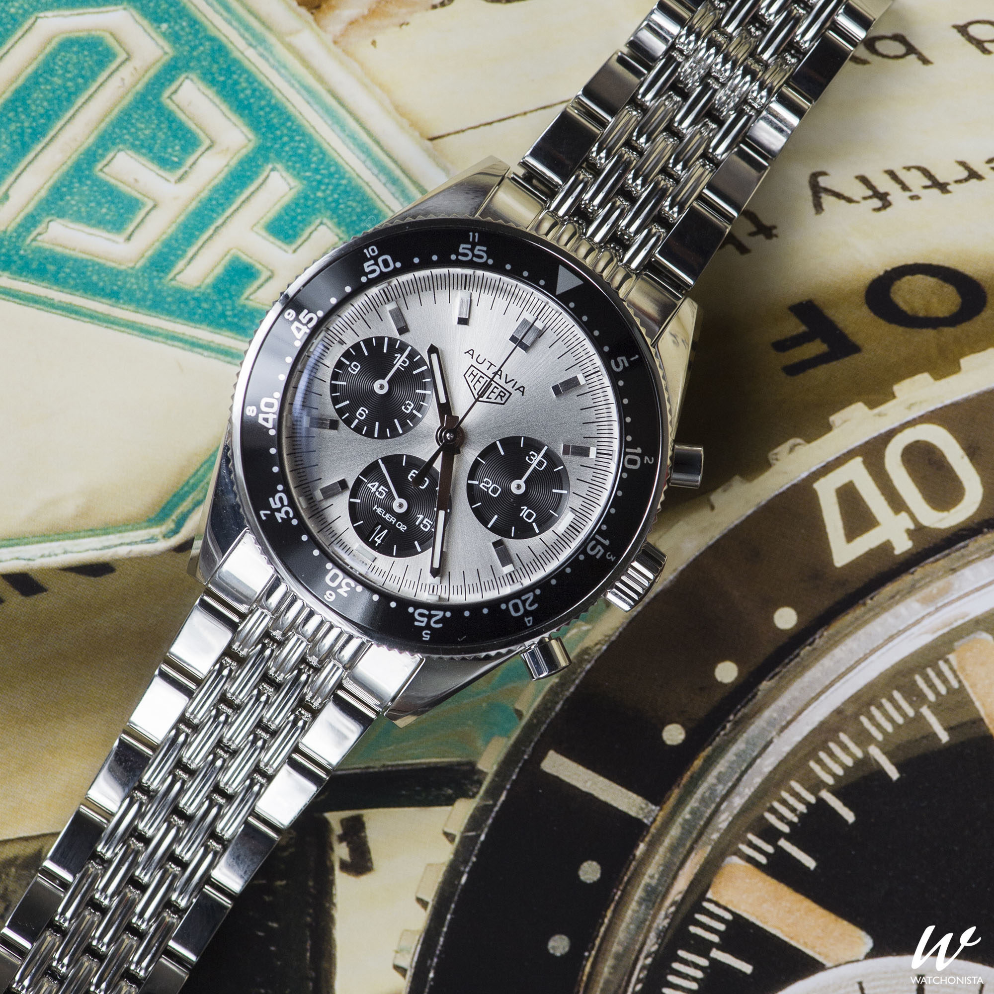 Rounding out the year of the Autavia with the new Jack Heuer Limited ...